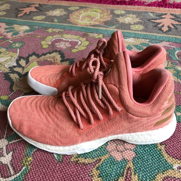 e8c1507f407d adidas Other - Adidas Harden LS Dust Pink Sneakers Shoes
